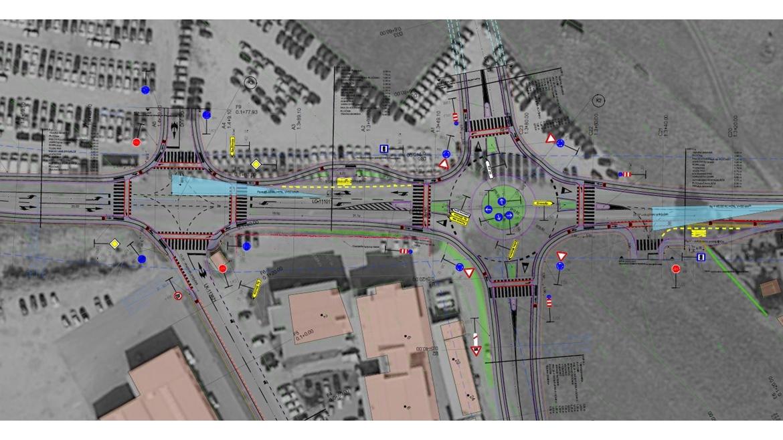 IB-KOM - Rekonstrukcija dveh križišč lokalnih cest