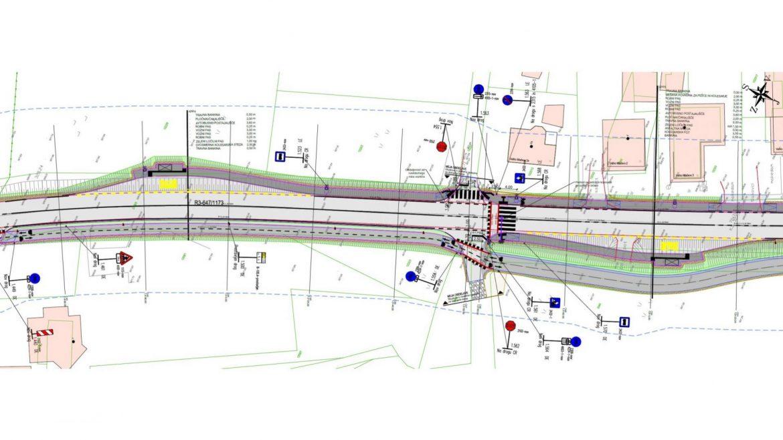 Slika 2 - Prometna situacija avtobusnih postajalisc izven naselja